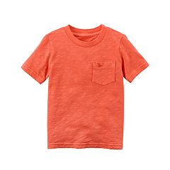 Toddler Boy Carter's Garment-Dyed Solid Tee