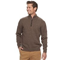 Men's Haggar Regular-Fit Quarter-Zip Sweater