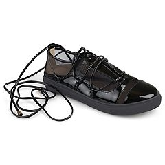 Journee Collection Harp Women's Ghillie Sneakers
