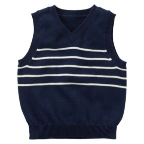 Toddler Boy Carter's Striped Sweater Vest