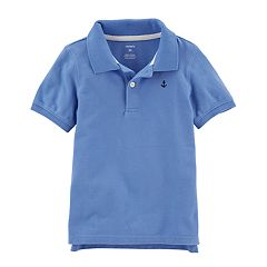 Toddler Boy Carter's Lavender Polo Shirt