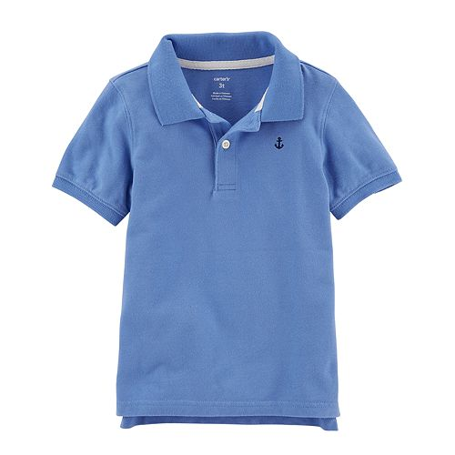 4f0b7ffe0 Toddler Boy Carter's Lavender Polo Shirt