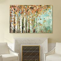 Artissimo Designs Aspen Strokes Canvas Wall Art