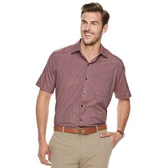 Big & Tall Van Heusen Air Classic-Fit Poplin Button-Down Shirt