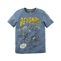 Toddler Boy Carter's 'Beyond Awesome' Dinosaurs in Space Graphic Tee