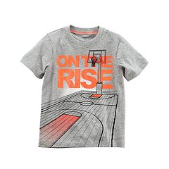Toddler Boy Carter's 'On The Rise' Basketball Graphic Tee