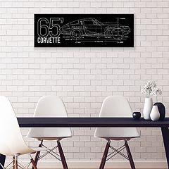 General Motors 1965 Corvette Stingray Canvas Wall Art