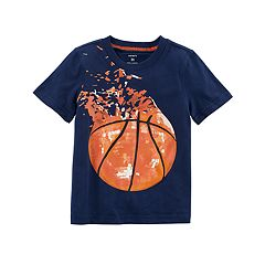 Toddler Boy Carter's Shredded Basketball Graphic Tee