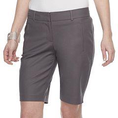 Women's Apt. 9® Torie Midrise Bermuda Shorts