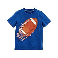 Toddler Boy Carter's Shredded Football Graphic Tee