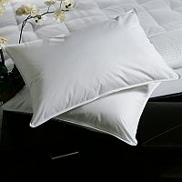 Downlite Plush Top Medium Density Goose Feather 2-pack Pillow