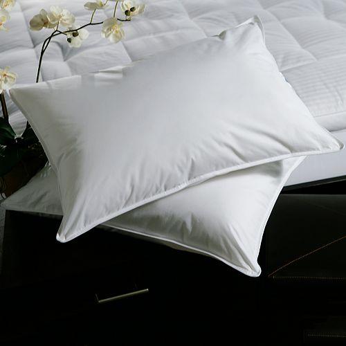 Downlite Plush Top Medium Density Goose Feather 2 Pack Pillow