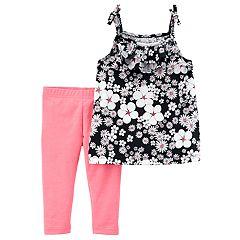 Baby Girl Carter's Floral Tank Top & Leggings Set