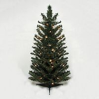 3-ft. Pre-Lit Canadian Pine Artificial Christmas Tree