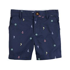 Toddler Boy Carter's Nautical Schiffli Shorts