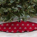 Ohio State Buckeyes 52-Inch Christmas Tree Skirt