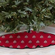 Ohio State Buckeyes 52-Inch Christmas Tree Skirt