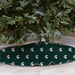 Michigan State Spartans 52-Inch Christmas Tree Skirt