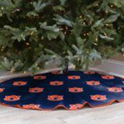 Auburn Tigers 52-Inch Christmas Tree Skirt