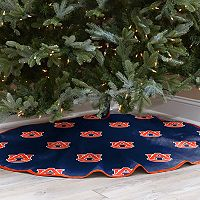 Auburn Tigers 52-Inch Christmas Tree Skirt