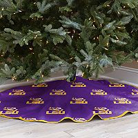 LSU Tigers 52-Inch Christmas Tree Skirt