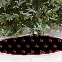 Louisville Cardinals 52-Inch Christmas Tree Skirt