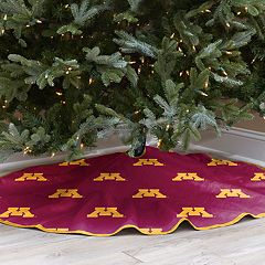 Minnesota Golden Gophers 52-Inch Christmas Tree Skirt