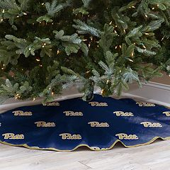 Pitt Panthers 52-Inch Christmas Tree Skirt
