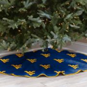 West Virginia Mountaineers 52-Inch Christmas Tree Skirt