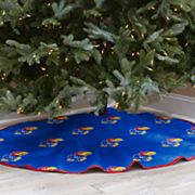 Kansas Jayhawks 52-Inch Christmas Tree Skirt
