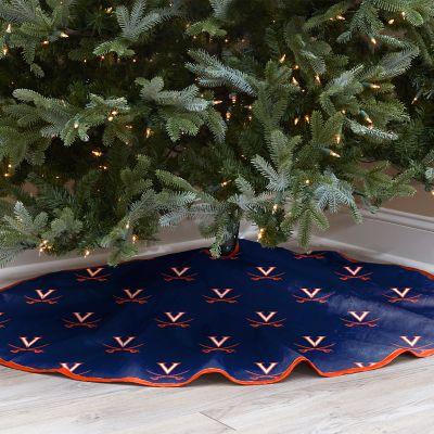 Virginia Cavaliers 52-Inch Christmas Tree Skirt