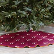 Virginia Tech Hokies 52-Inch Christmas Tree Skirt