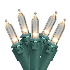 100 LED Indoor / Outdoor Mini Christmas Lights