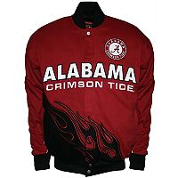 Men's Franchise Club Alabama Crimson Tide Hot Route Twill Jacket