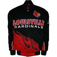 Men's Franchise Club Louisville Cardinals Hot Route Twill Jacket