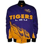 Men's Franchise Club LSU Tigers Hot Route Twill Jacket