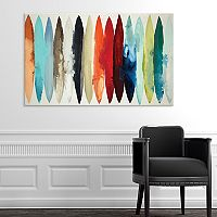 Artissimo Designs Even Flow Canvas Wall Art