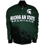 Men's Franchise Club Michigan State Spartans Hot Route Twill Jacket