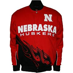 Men's Franchise Club Nebraska Cornhuskers Hot Route Twill Jacket