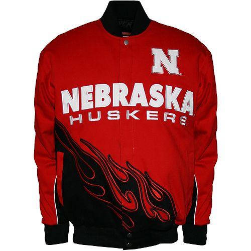 Men's Franchise Club Nebraska Cornhuskers Hot Route Twill Jacket