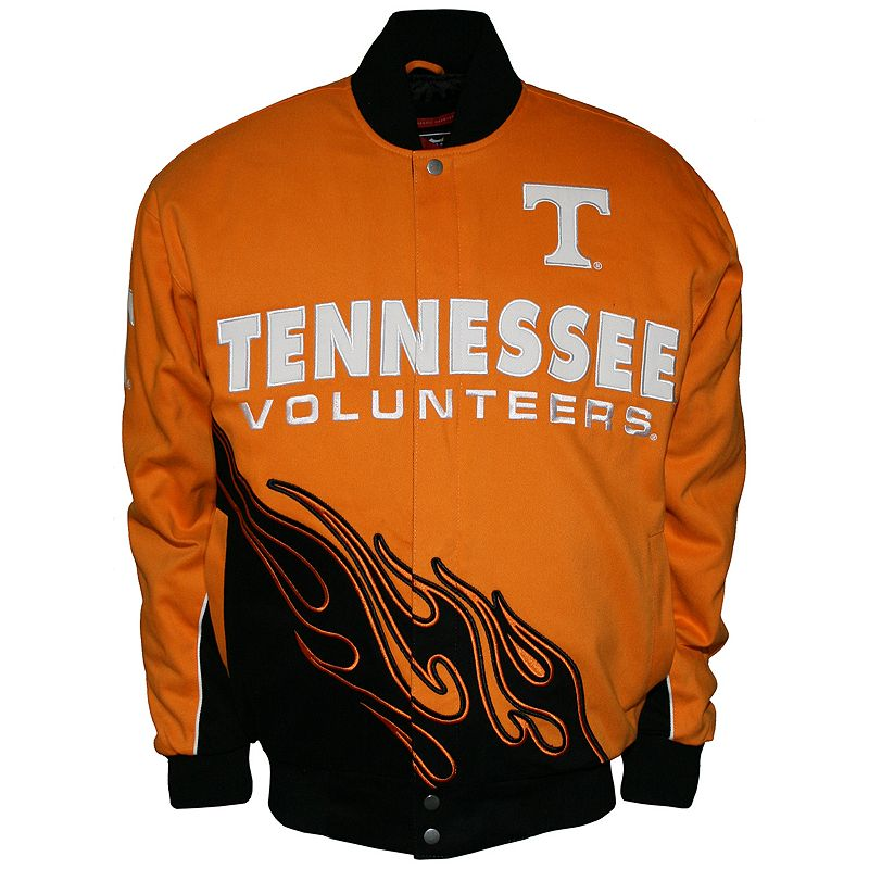 Men's Franchise Club Tennessee Volunteers Hot Route Twill Jacket, Size: 4XL, Orange