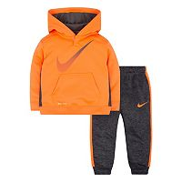 Baby Boy Nike Therma Pullover Hoodie & Pants Set