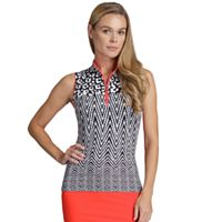 Women's Tail Cindy Chevron Print Golf Tank