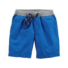 Toddler Boy Carter's Blue Pull-On Shorts