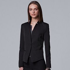 Women's Simply Vera Vera Wang Cropped Blazer