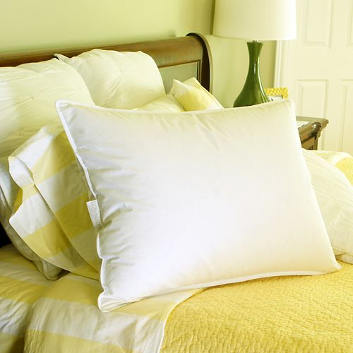 Hotel Collection Down Pillow Firm: Downlite Firm Density White Goose Down Hotel Pillow