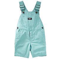 Baby Boy OshKosh B'gosh® Turquoise Shortalls