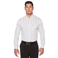 Men's Jack Nicklaus Regular-Fit Windowpane Button-Down Shirt