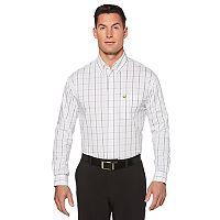 Men's Jack Nicklaus Regular-Fit Windowpane Button-Down Shirt