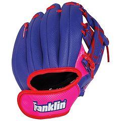 Girls Left Hand Franklin Sports Airtech Ball and Glove Set